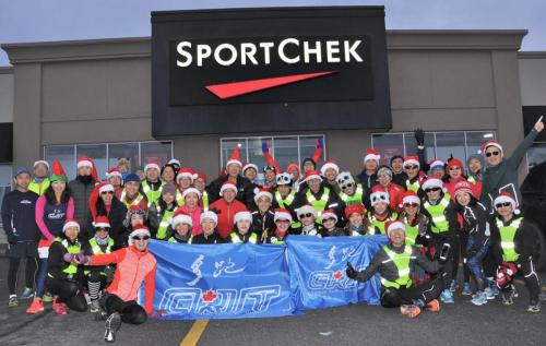 Christmas Group Run 2018